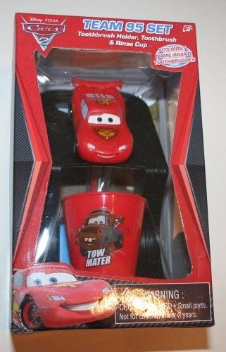 Disney Cars 2 Great Smile Set   Toothbrush Holder, Toothbrush, And Rinse Cup Great Pictures