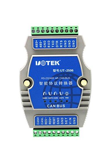 UTEK UT-2506 RS-232/485 to CANBUS Converter Built-in Protocol