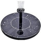 MADETEC Solar Birdbath Fountain Pump, Solar Outdoor Water Fountain Panel Kit for Bird Bath,Small Pond,Garden and Lawn (1…
