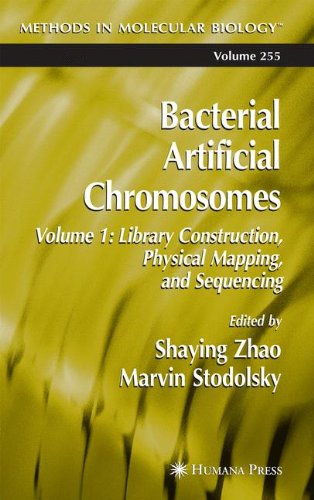 Bacterial Artificial Chromosomes: Volume 1: Library Construction, Physical Mapping, and Sequencing (Methods in Molecular (Construction Reproducible Book)