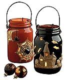 DII Spooky Halloween Lanterns, Set of 2