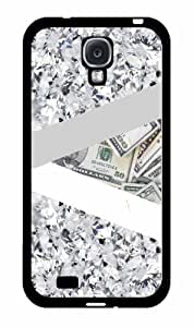 Money and Diamonds - Phone Case Back Cover (Galaxy S4 - Plastic)