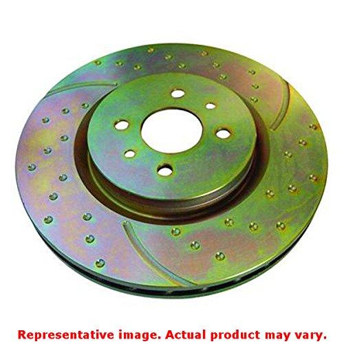EBC Brakes GD1312 Front Sport Brake Rotor for Mazda3 - 2 Piece