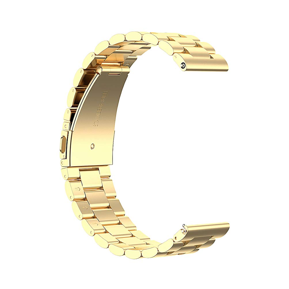 Hemobllo Steel Metal Watch Band Steel Bracelet Straps Compatible for Amazfit GTR by Hemobllo
