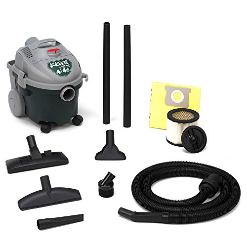 Shop-Vac 58704004 4-Gallon 4.5 Peak HP All Around Plus Wet/Dry Vacuum in Green