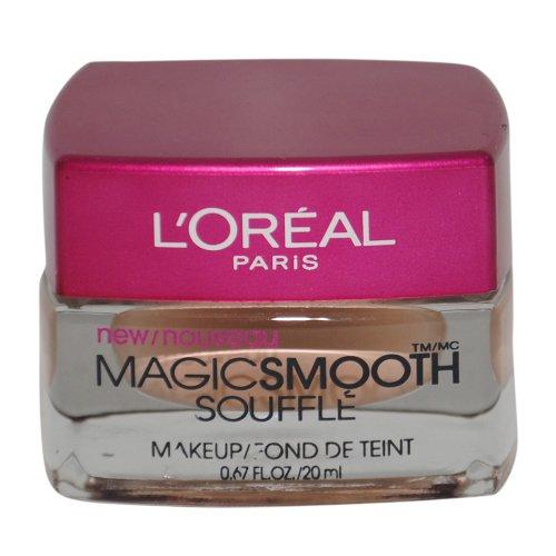 L'Oreal Paris Studio Secrets Professional Magic Smooth Souffle Makeup, Natural Buff, 0.67-Fluid Ounce ()