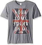 American Classics Unisex-Adults Def Leppard Sugar Short Sleeve T-Shirt, Graphite Heather, Large