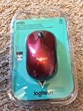 Logitech Wireless Mouse Red/Black M185