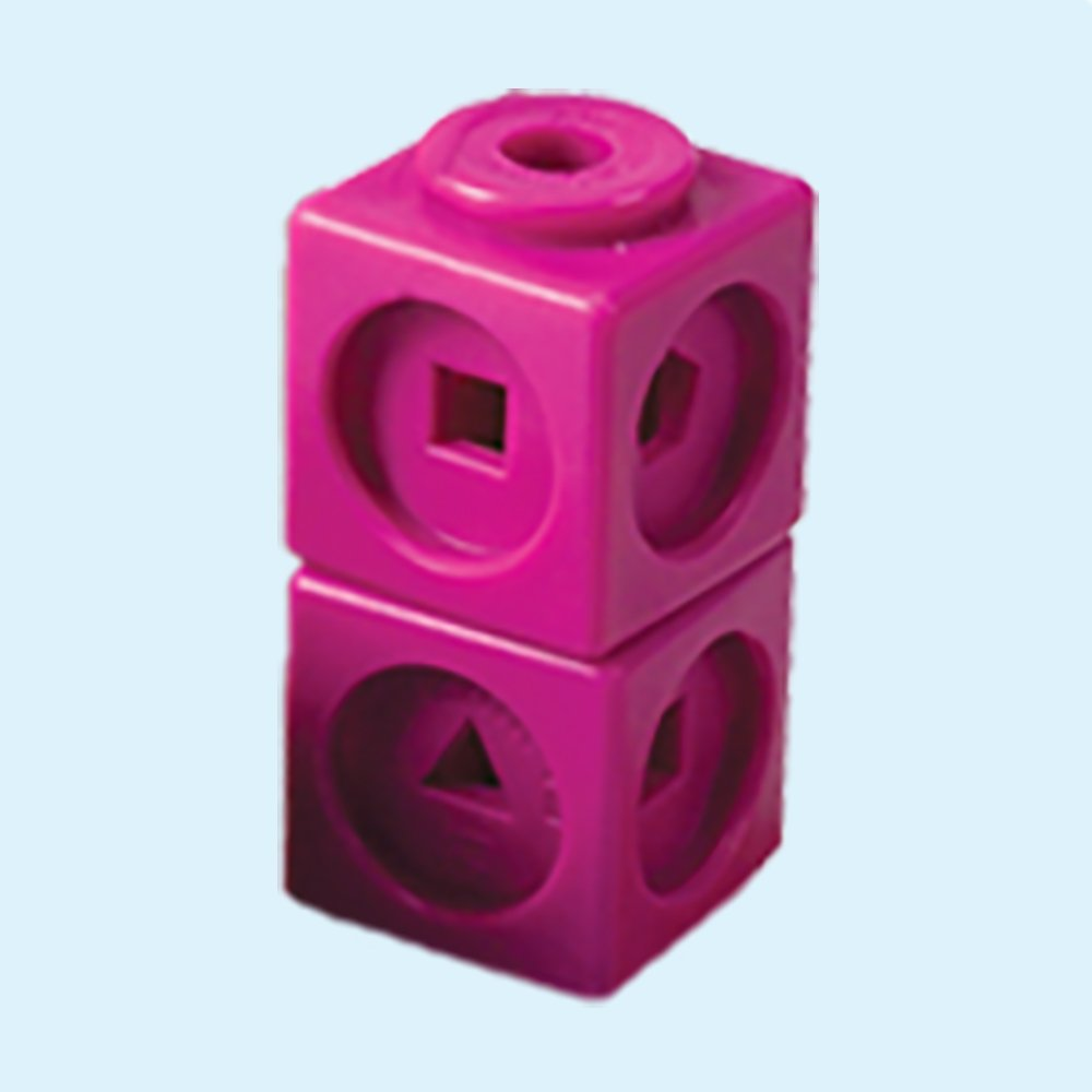 Learning Resources Mathlink Cubes, Educational Counting Toy, Set of 100 Cubes by Learning Resources (Image #4)
