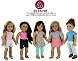 """PZAS Toys Doll Clothes for American Girl - Wardrobe Makeover, 10 Outfits, Fits 18"""" Dolls - by"""