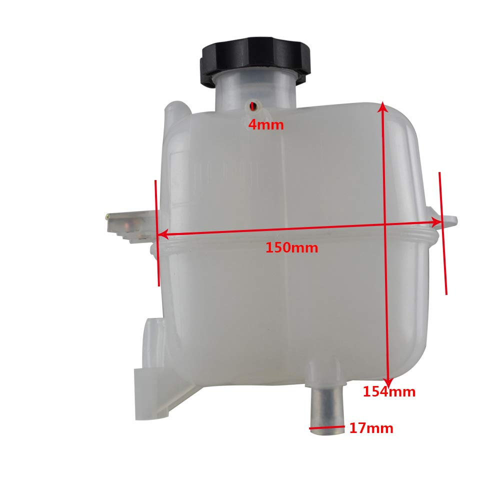 FLYPIG Coolant Tank overflow Bottle reservoir Jug w//cap for 2013-2015 Chevrolet Spark 95352005