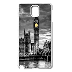 UNI-BEE PHONE CASE For Samsung Galaxy NOTE3 Case Cover -London Big Ben-CASE-STYLE 19