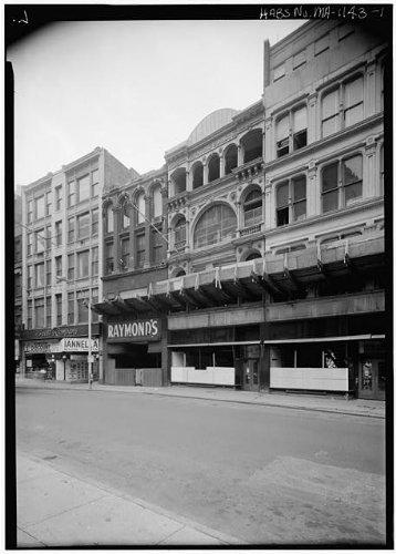 Photo: Whiting Building,Washington Street,Boston,Suffolk - 1 Ma Boston Street Washington