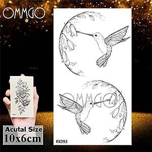 5Pcs- Lotusflower etiqueta engomada del tatuaje cadenas pendientes ...