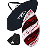Skimboard Package for beginners - Red - 40.5