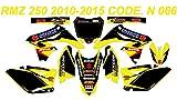 N 066 SUZUKI RMZ 250 2010-2016 DECALS STICKERS GRAPHICS KIT