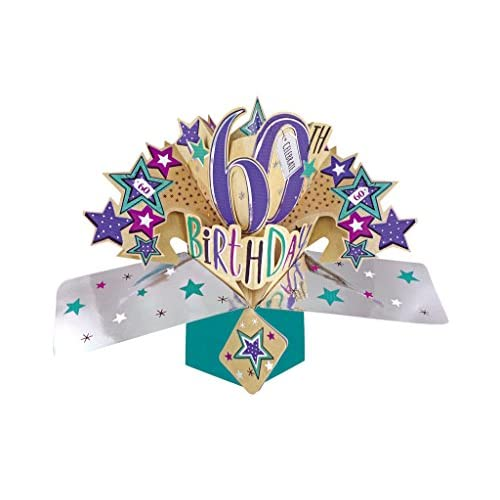 70 Off Second Nature Pop Ups Carte D Anniversaire 60 Ans Primaria
