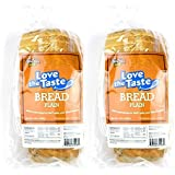 ThinSlim Foods Love-The-Taste Low Carb Bread, 2pack (Plain)