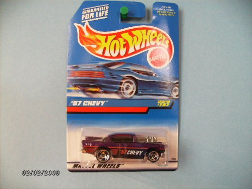 Hot Wheels 57 Chevy Collector #787 1:64 Scale (1957 Quarter Panel)
