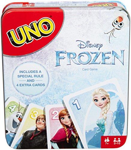 Mattel Games UNO Disney Frozen Card Game