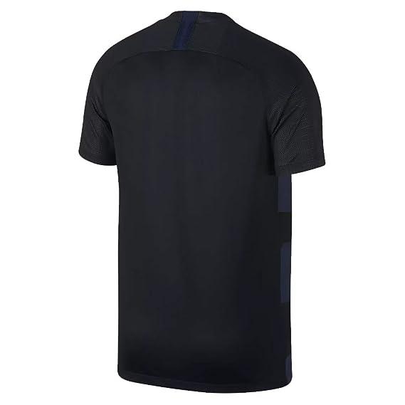 Amazon.com : NIKE Croatia 2018 Away Jersey- Black/Navy : Sports & Outdoors