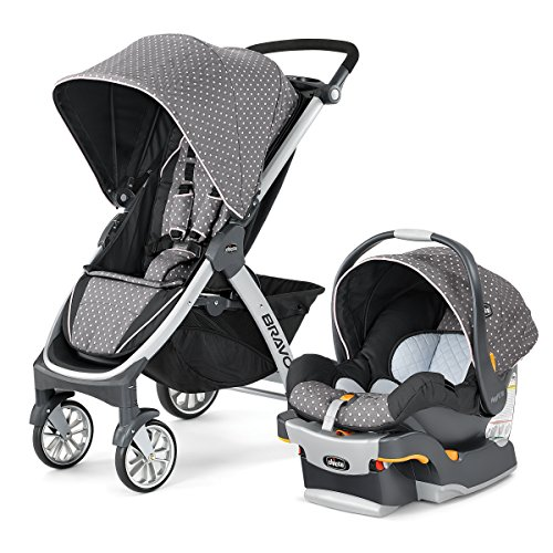 (Chicco Bravo Trio Travel System, Lilla)