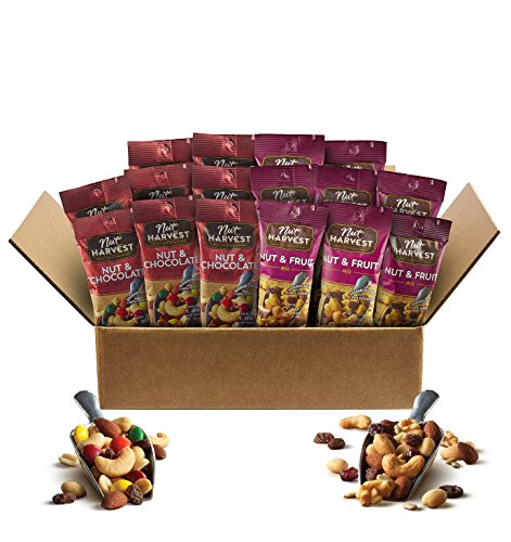 Nut Harvest Trail Mix Variety Pack, 16 Count Individual packs