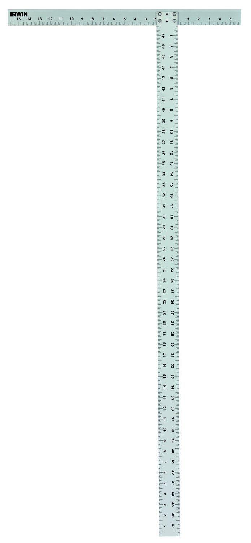 IRWIN Tools Drywall Square, Aluminum, 48-Inch (1794476)