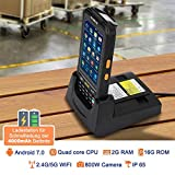 MUNBYN PDA Scanner with Android 7.0, 2D QR PDF417