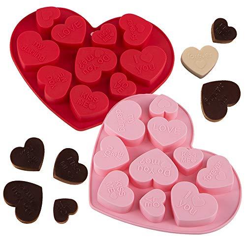 Heart Shaped Chocolate Molds - 3