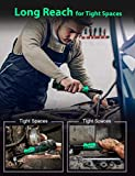 """Cordless Extended Power Ratchet Wrench, 3/8"""" 40"""
