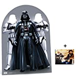 Fan Pack - Star Wars Darth Vader and Stormtroopers Child Size Stand in Lifesize Cardboard Cutout/Standee/ Stand Up Includes 8x10 (20x25cm) Photo