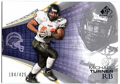 MICHAEL TURNER 2004 Upper Deck SP Game Used RC Northern Illinois Huskies 194/425 ()
