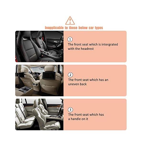 51keBmQdJcL Awroutdoor Auto Rückenlehnenschutz, 2 Stück Wasserdicht Auto Rücksitz Organizer für Kinder,Rücksitzschoner Kick-Matten…