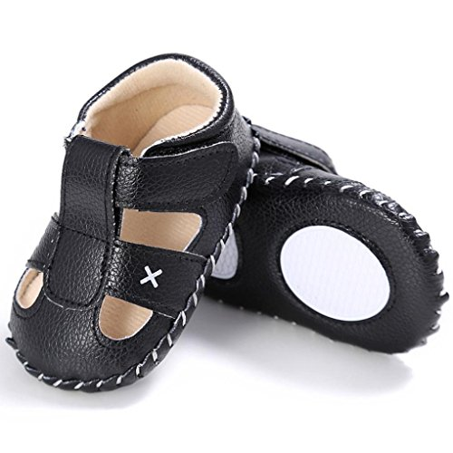Voberry Baby Boy Girl Leather Sandals