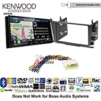 Volunteer Audio Kenwood Excelon DNX994S Double Din Radio Install Kit with GPS Navigation Apple CarPlay Android Auto Fits 2001-2003 Acura CL and 1999-2003 Acura TL