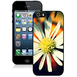 Beautiful Unique Designed Cover Case For iPhone 5S With Flappy Bird Pixel Black Phone Case