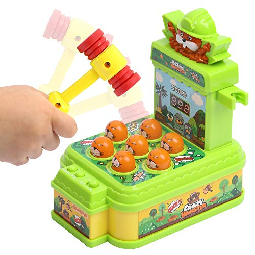 Lemostaar Baby Pounding Toy with Musical Sound Effect - Fun Gift for Toddlers - Hammering Toy Set