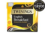 Twinings English Breakfast 100 Tea Bags Golden and well rounded