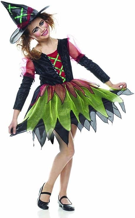 Rubies s it10034-l – Disfraz bruja elegante niña L: Amazon.es ...