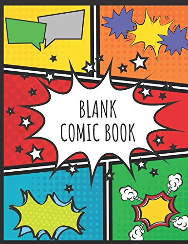 Blank Comic Book is a fun Easter basket stuffer for tweens
