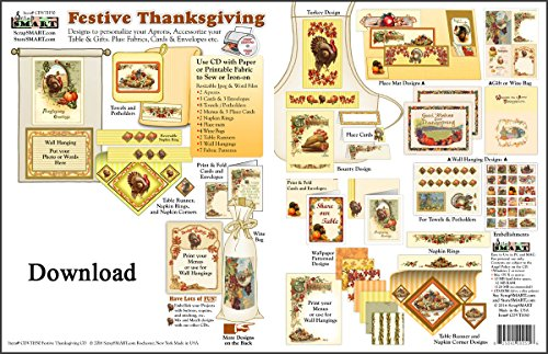 ScrapSMART - Festive Thanksgiving - Software Collection - Microsoft Word & Jpeg files for Mac [Download] ()