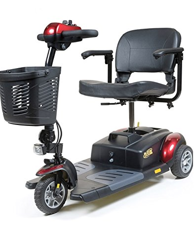 Golden Technologies 2015 Buzzaround XL 3 Wheel Mobility Scooter in Red - GB117
