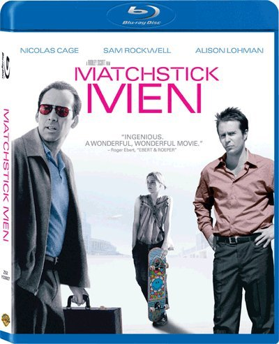 Matchstick Men (Region A Blu-Ray) (Hong Kong Version) Chinese subtitled