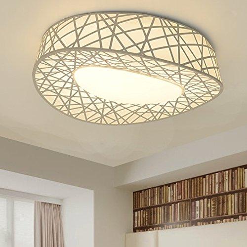 SSBY Modern Creative LED Deckenleuchte warmen Schlafzimmer romantische Zimmer Lampen nest Leselampe , stufenlos dimmen