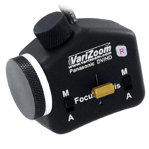 Varizoom Stealth Style Zoom, Focus, Iris control Only for HVX200 and DVX100B camcorders by Varizoom Lens Controls