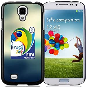 Lovely Phone Case World Cup 2014 Brasil Logo Lockscreen Galaxy S4 Wallpaper