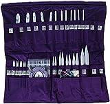 Denise Needles Knit and Crochet Needle in a Della Q-Case, Purple