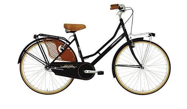 26 pulgadas bicicleta de Holland Mujer adriatica Weekend Lady, negro: Amazon.es: Deportes y aire libre