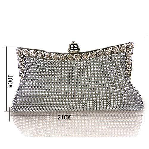 Femme Argenté Silver L52550KQ16L Silver pour Pochette Queta EnCxWOq4C